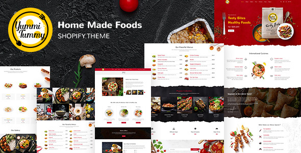 Yummi - Food Delivery Shopify Theme