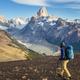Hike in Patagonia - PhotoDune Item for Sale