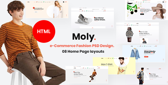 Moly - Multipurpose ecommerce HTML5 Template