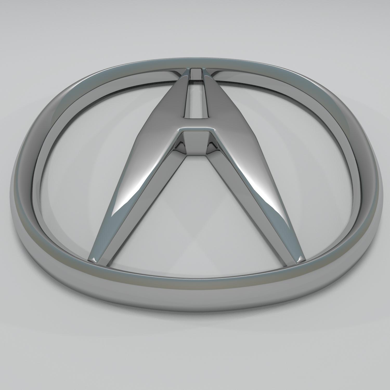 Acura Logo By Reticulum DOcean - Acura emblem