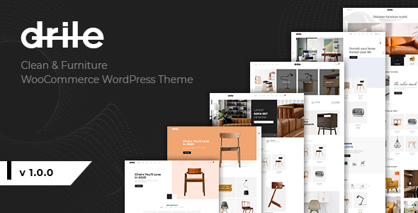 Download Drile – Furniture WooCommerce WordPress Theme Free Nulled