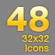48 small icons - GraphicRiver Item for Sale