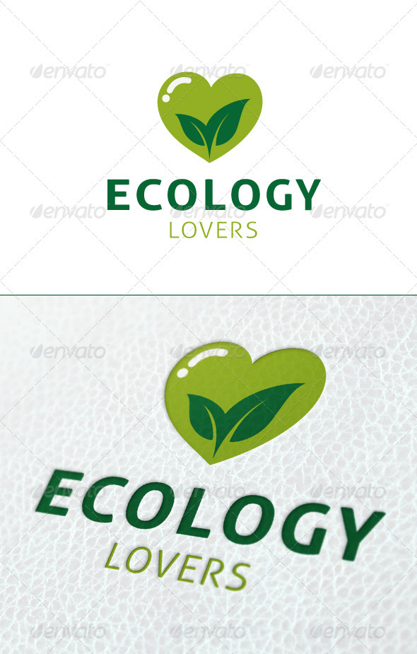 Ecology Lovers Logo Template - Nature Logo Templates
