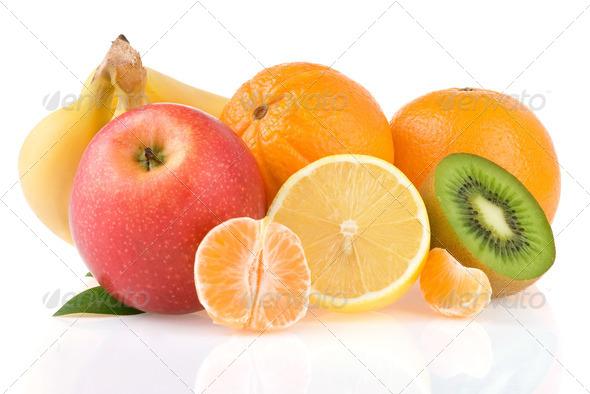 Isol fruit - Stock Photo - Images
