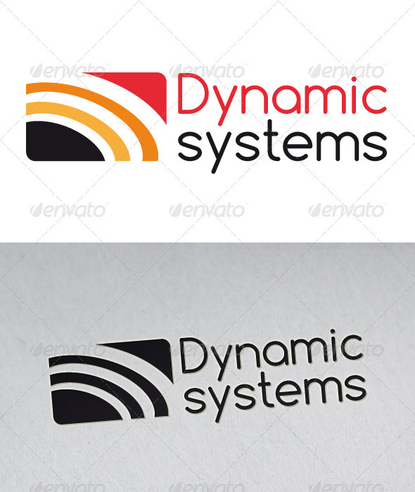 Dynamic System Logo - Vector Abstract