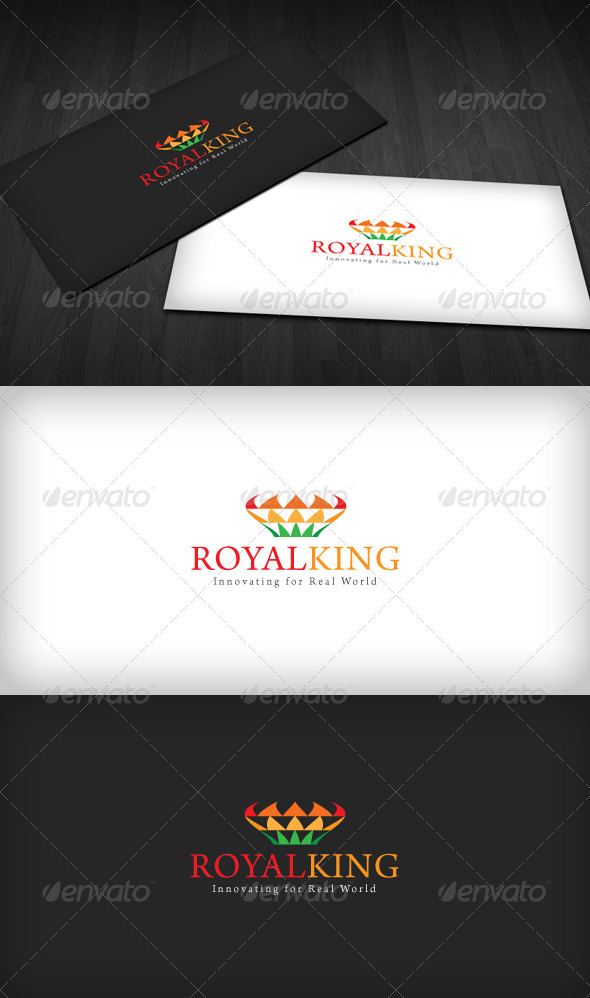 Royal King Logo - Symbols Logo Templates