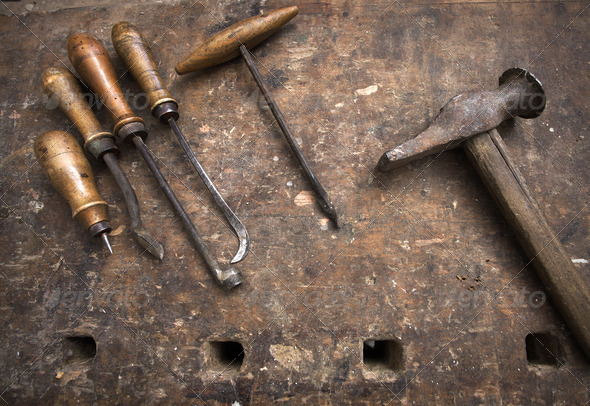 craftsman tools - Stock Photo - Images