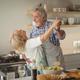 Senior couple dancing in kitchen - PhotoDune Item for Sale