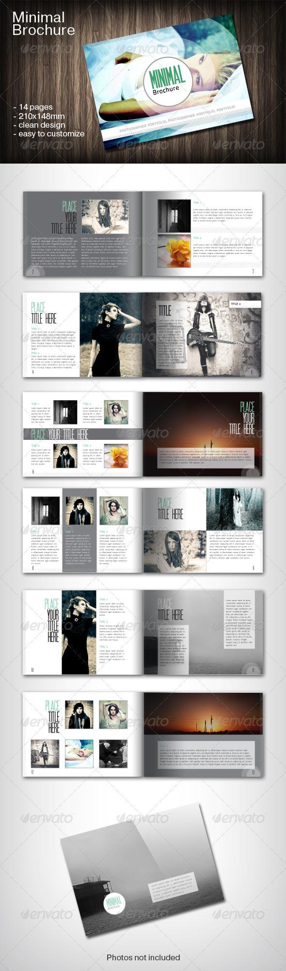 Minimal Bochure - Portfolio Brochures