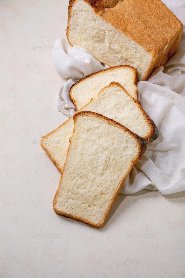 Hokkaido wheat bread - Stock Photo - Images
