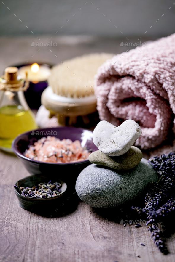 Lavender SPA concept - Stock Photo - Images