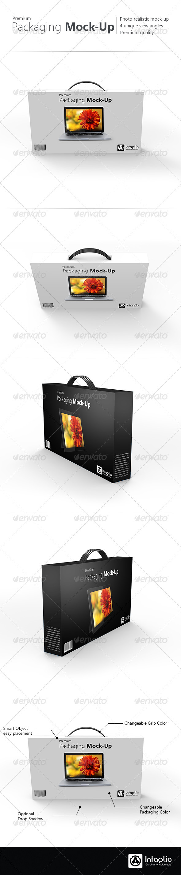 Premium Packaging Mock-Up - Miscellaneous Displays
