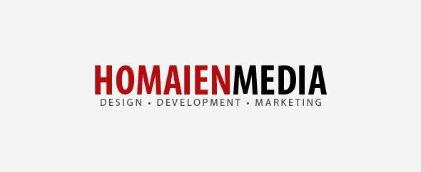 Homaien media logo