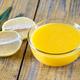 Glass bowl of lemon curd - PhotoDune Item for Sale
