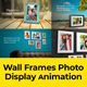 Wall Frames Photo Display - VideoHive Item for Sale