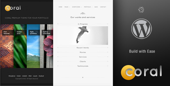 Free Download Coral Wordpress Theme Nulled Latest Version