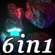 Space Neon - Vj Loop Pack (6in1) - VideoHive Item for Sale