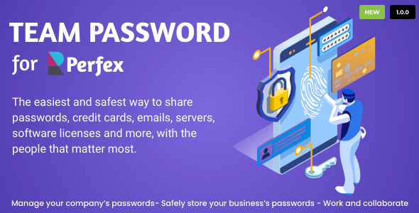 Download Team Password for Perfex CRM Free Nulled