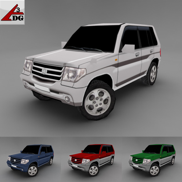 mitsubishi Pajero IO - 3DOcean Item for Sale