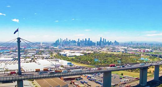 Melbourne Aerial Video