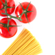 Setting pasta with spaghetti and tomatoes - PhotoDune Item for Sale