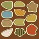 Labels Set - Earth tones - GraphicRiver Item for Sale
