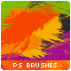 Bundle (3in1) 58 Paint Splashes Photoshop Brushes