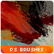 56 Watercolor & Paint Photoshop Brushes - GraphicRiver Item for Sale