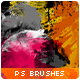 27 Paint Smears & Smudges Photoshop Brushes - GraphicRiver Item for Sale