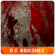 27 Bloodstain Photoshop Brushes - GraphicRiver Item for Sale