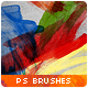 14 Paint Smudges Brushes - GraphicRiver Item for Sale