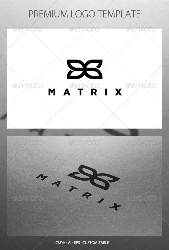 Matrix - Abstract Symbol Logo Template - Symbols Logo Templates