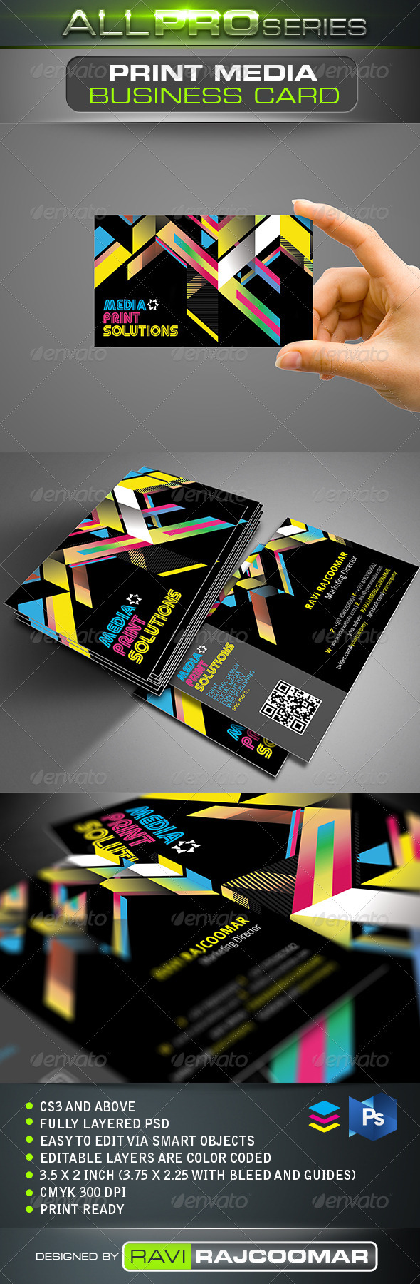 Print Media Business Card - Creative Business Cards
