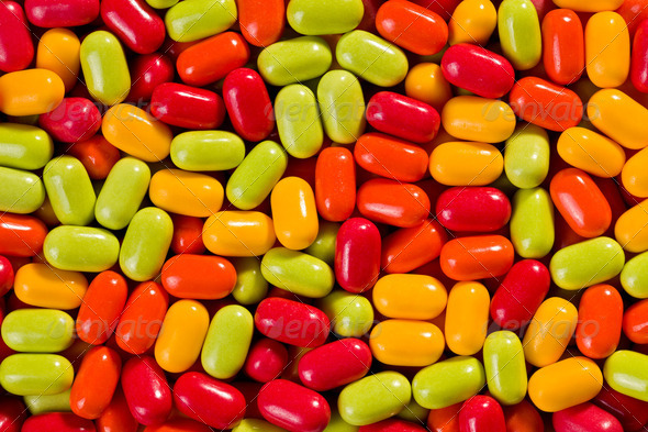 colorful candies background - Stock Photo - Images