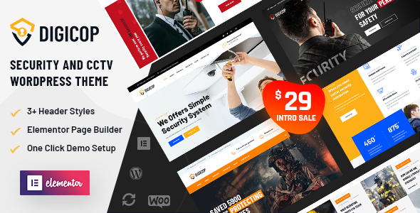 Digicop – Security and CCTV WordPress Theme