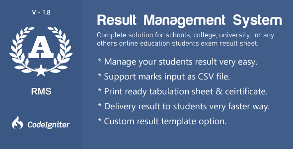 Result Management  System