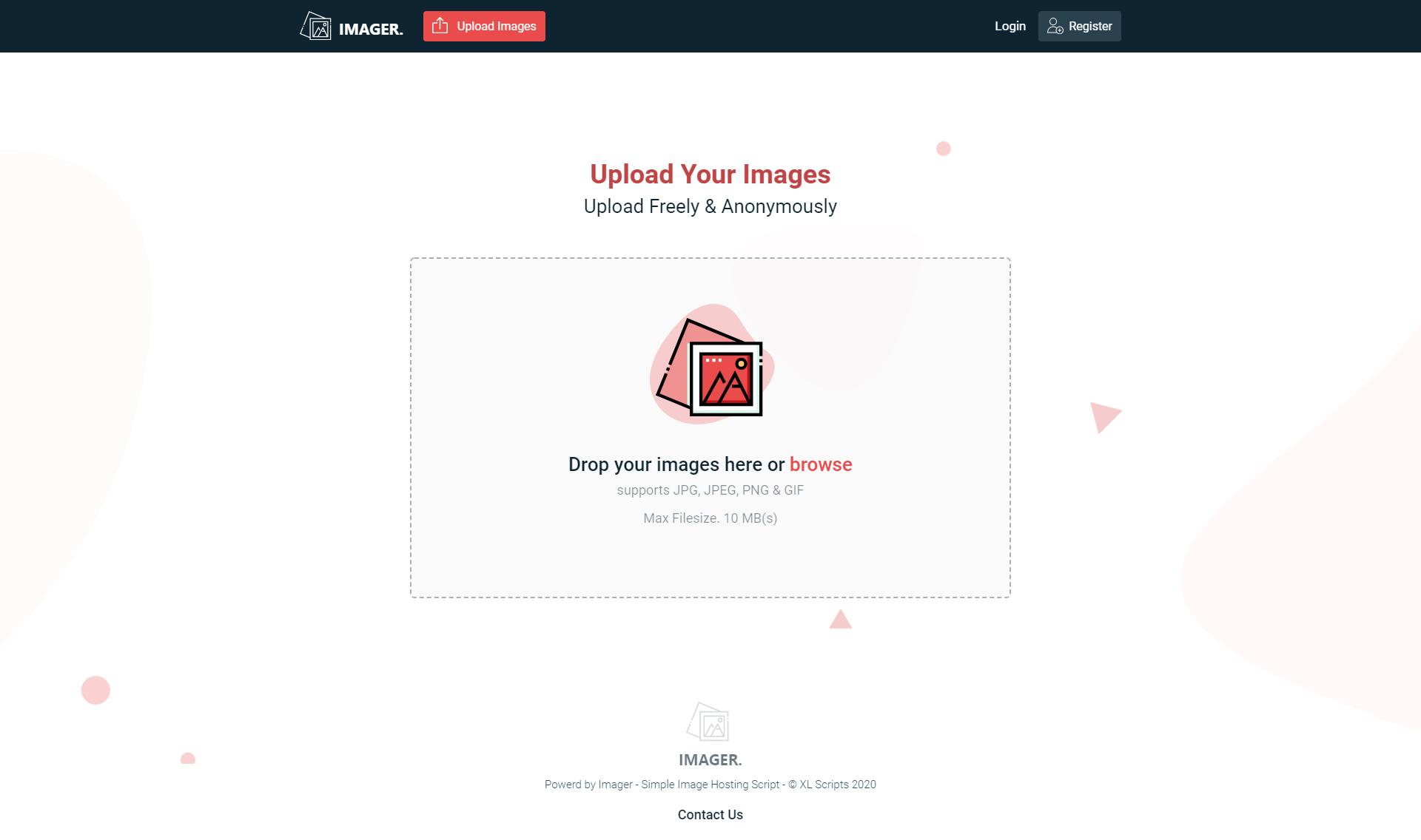 [Source Code] Imager - Simple Image Hosting Script