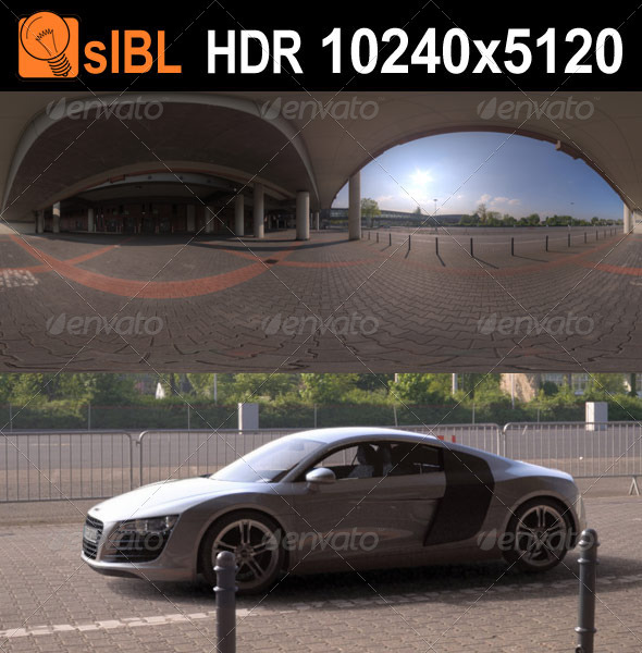 HDR 118 Parking Lot sIBL - 3DOcean Item for Sale