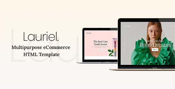 Nice Lauriel - Multipurpose eCommerce HTML Template