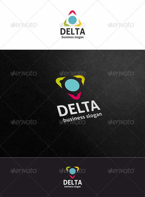 Delta Logo Template - Symbols Logo Templates
