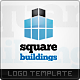 Square Buildings Logo Templates - GraphicRiver Item for Sale