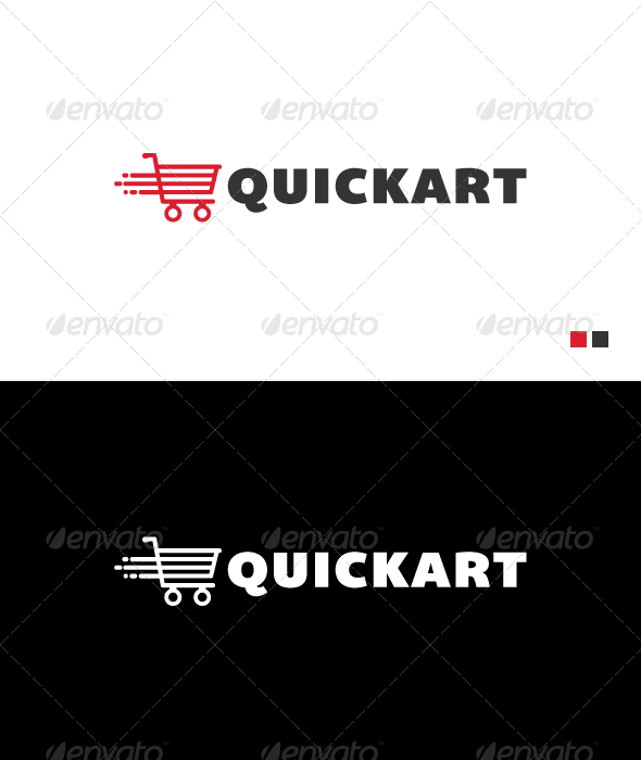 Quikart - Logo Template - Objects Logo Templates
