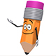 Cartoon Pencil Mascot (13-Pack) - VideoHive Item for Sale