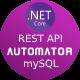 MySQL to Dot Net Core Automatic REST API Generator + JWT Auth + Swagger + Postman