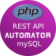 Automatic PHP REST API Generator + Postman Docs from MySQL Database With JWT Token Authentication