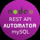 MySQL to NodeJS REST API Generator + Postman API + JWT Auth - Windows