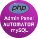 Automatic Responsive Admin Panel Generator + Permission Management from MySQL Database