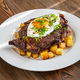 Beefsteak with fried egg - PhotoDune Item for Sale