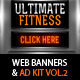 Multipurpose Web Banner & Ad Kit - Vol.2 - GraphicRiver Item for Sale