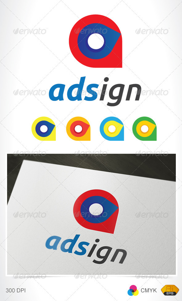 Adsign Logo - Vector Abstract